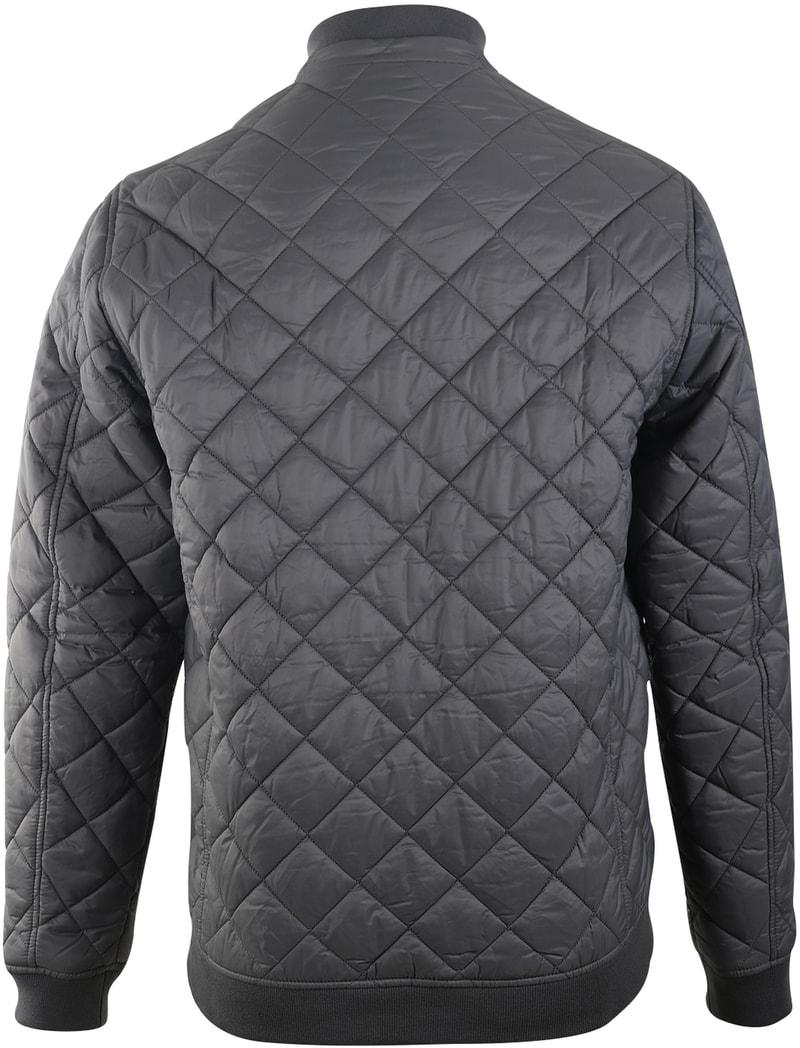 Detail Barbour Holton Quilted Jas Grijs
