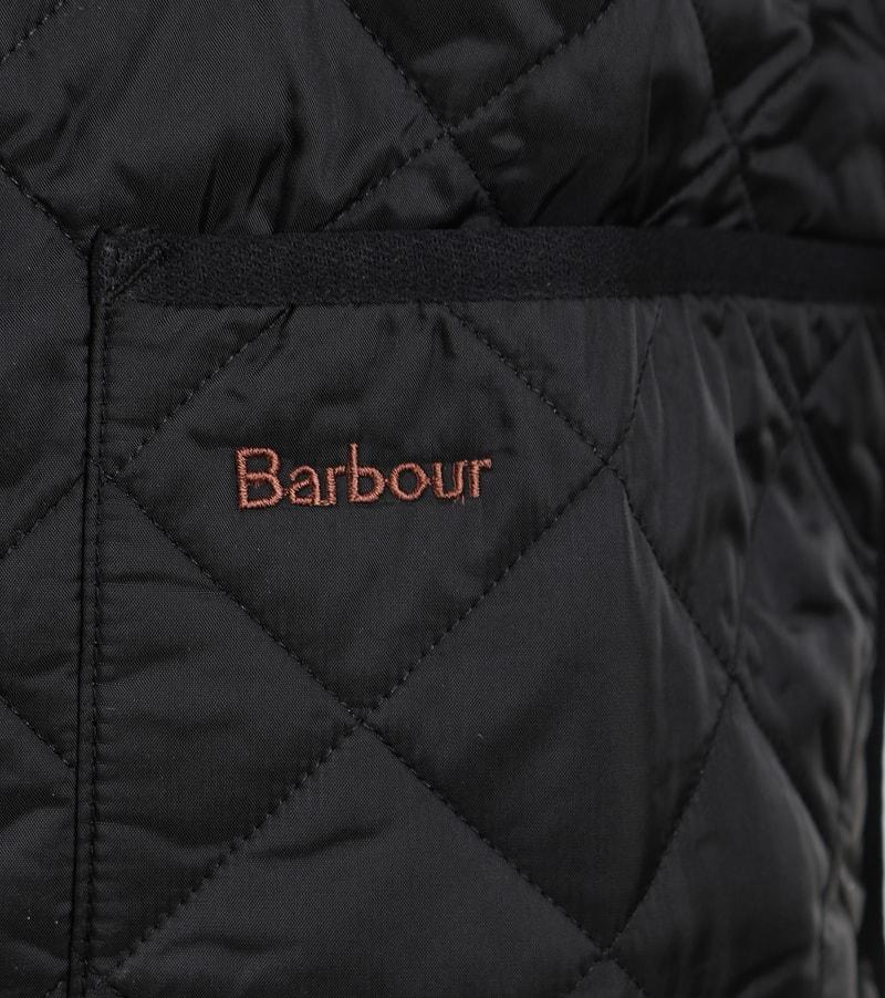 Barbour Innenfutter Quilted Zip-in Schwarz