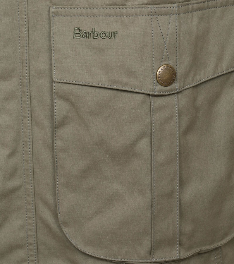 Barbour Jacke Sanderling Grun