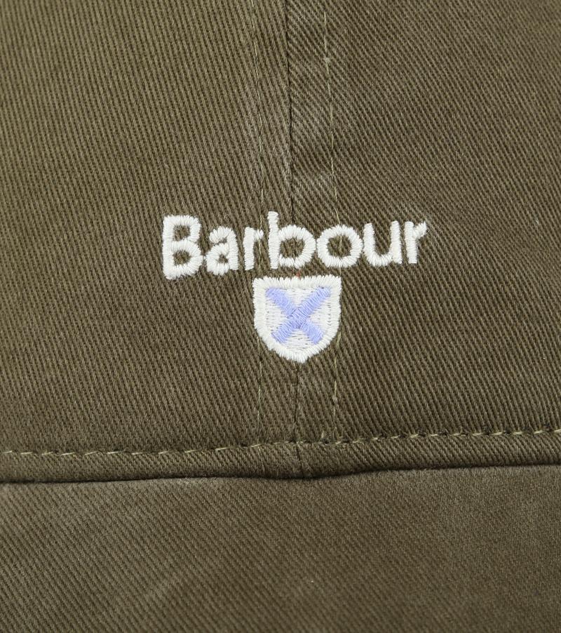 Barbour Kappe Olivgrün