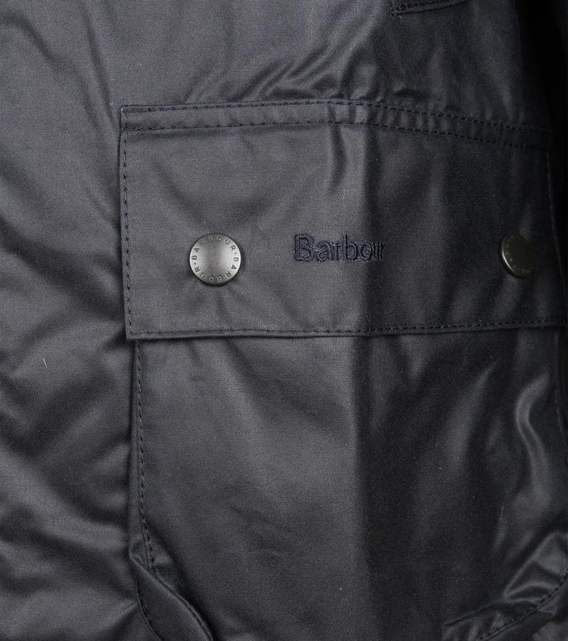 Barbour Klassische Bedale Wachsjacke