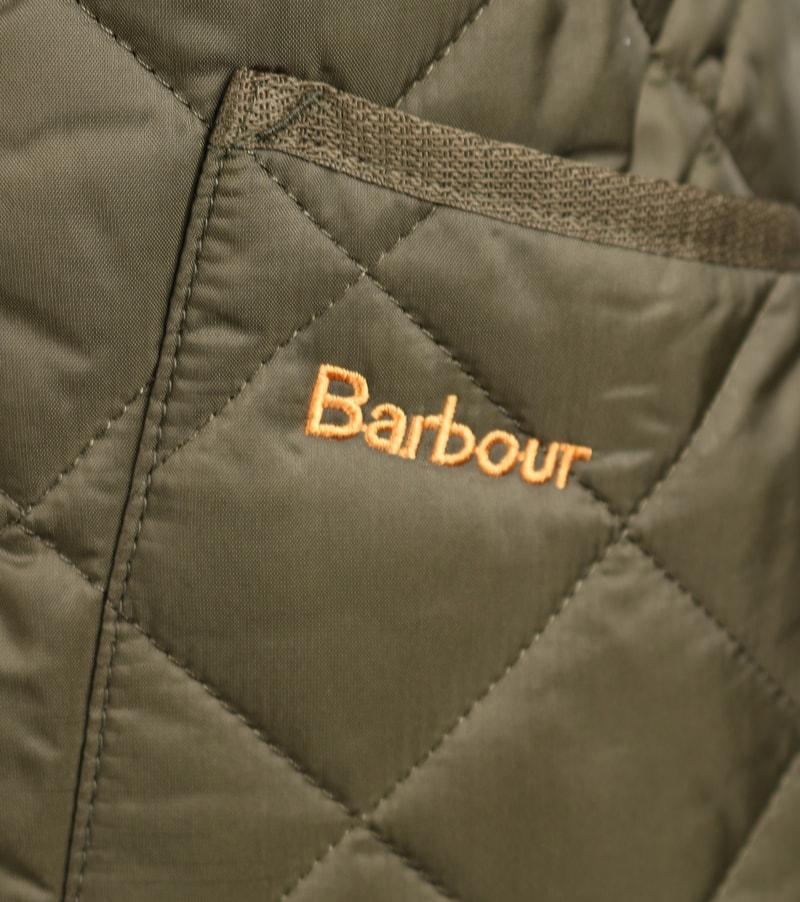 Barbour Liddesdale Heritage Steppjacke Grün Foto 4