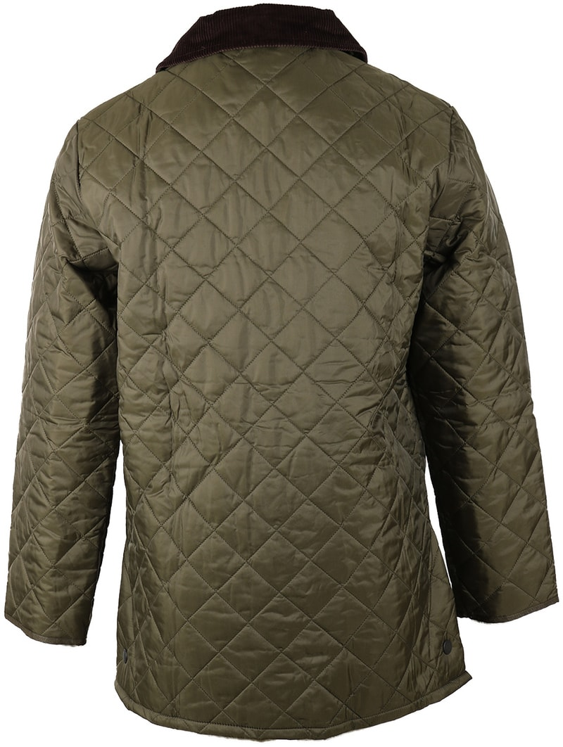 Barbour Liddesdale Quilt Green