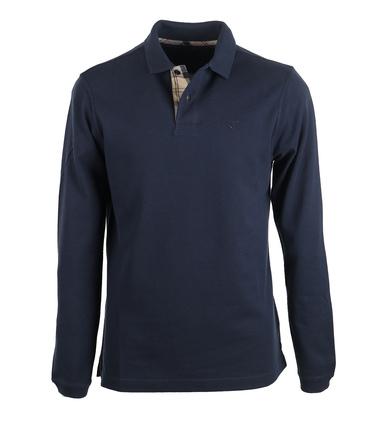 Barbour Longsleeve Polo Navy  online bestellen | Suitable