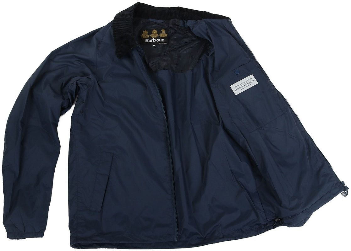 Barbour Lundy Jacket Navy photo 5