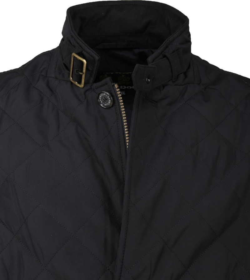 Barbour Lutz Quilt Jacket Zwart foto 1