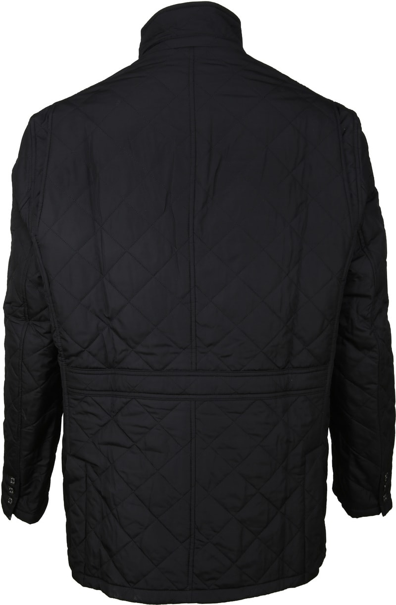 Barbour Lutz Quilt Jacket Zwart foto 4