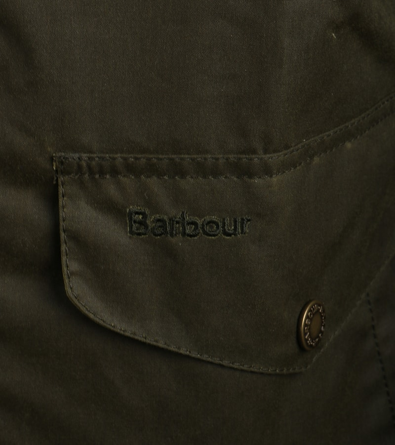 Detail Barbour Orkney Waxjas