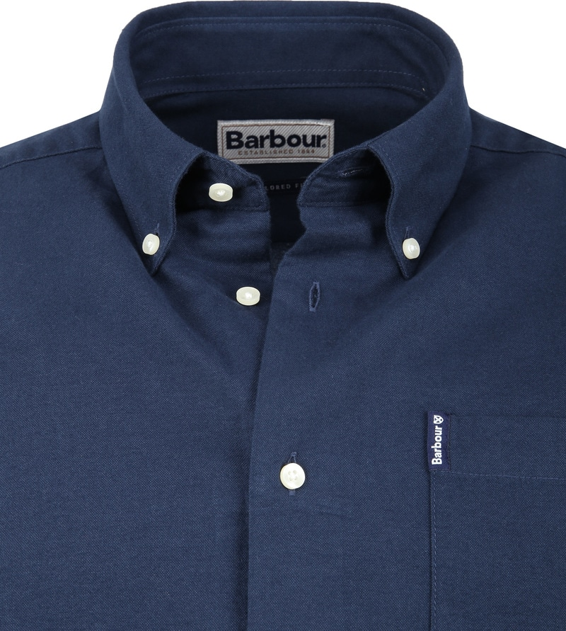 Barbour Overhemd Navy foto 1