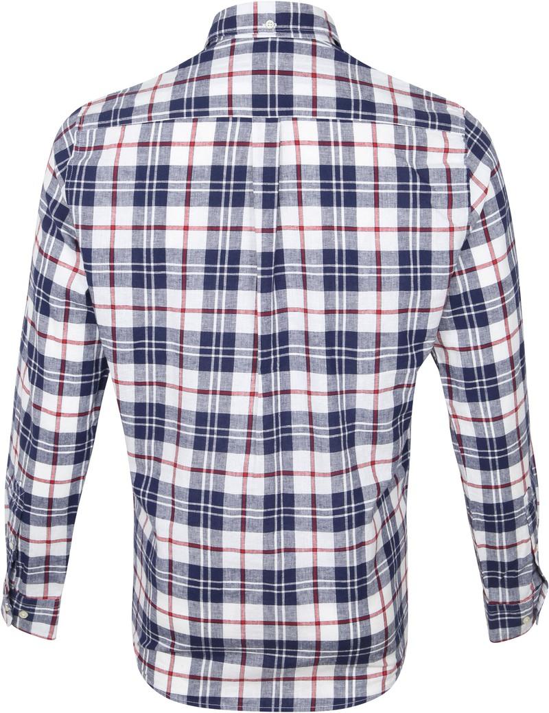 Barbour Overhemd Ruit Donkerblauw