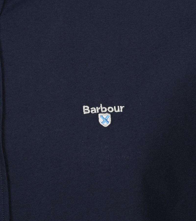 Barbour Oxford Hemd Navy
