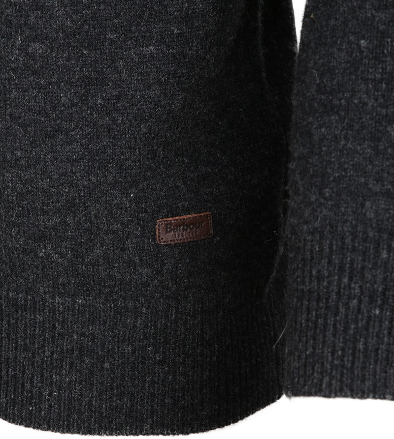 Barbour Patch Pullover Anthrazit