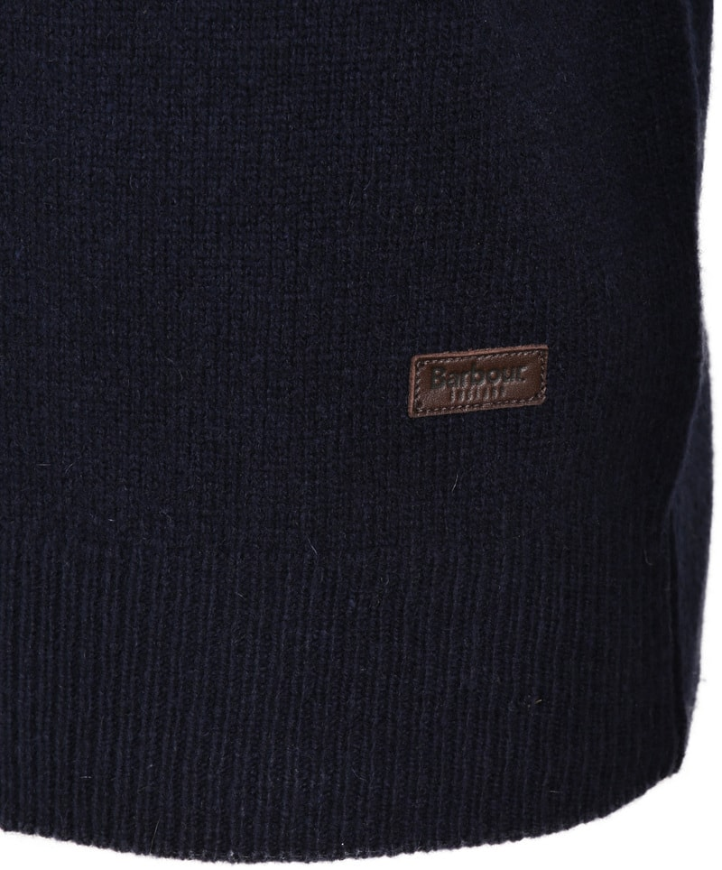 Barbour Patch Pullover Marine