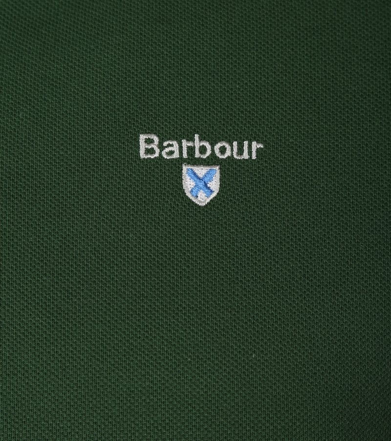 Barbour Poloshirt Racing Green photo 1