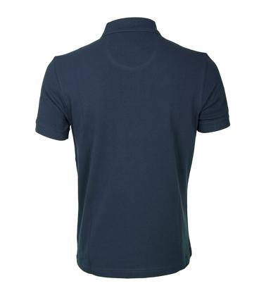 Barbour Poloshirt Uni Blue photo 2