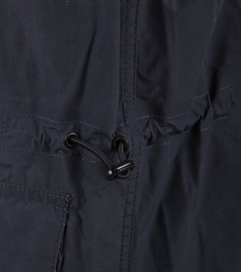 Detail Barbour Port Zomerjas Donkerblauw