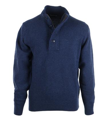 Barbour Pullover Patch Navy  online bestellen | Suitable