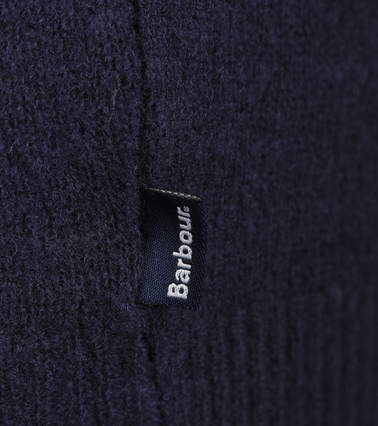 Detail Barbour Pullover Wol Navy