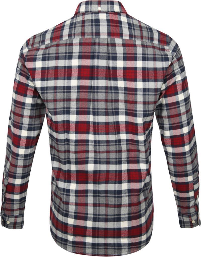 Barbour Shirt Diamant Rot Foto 4