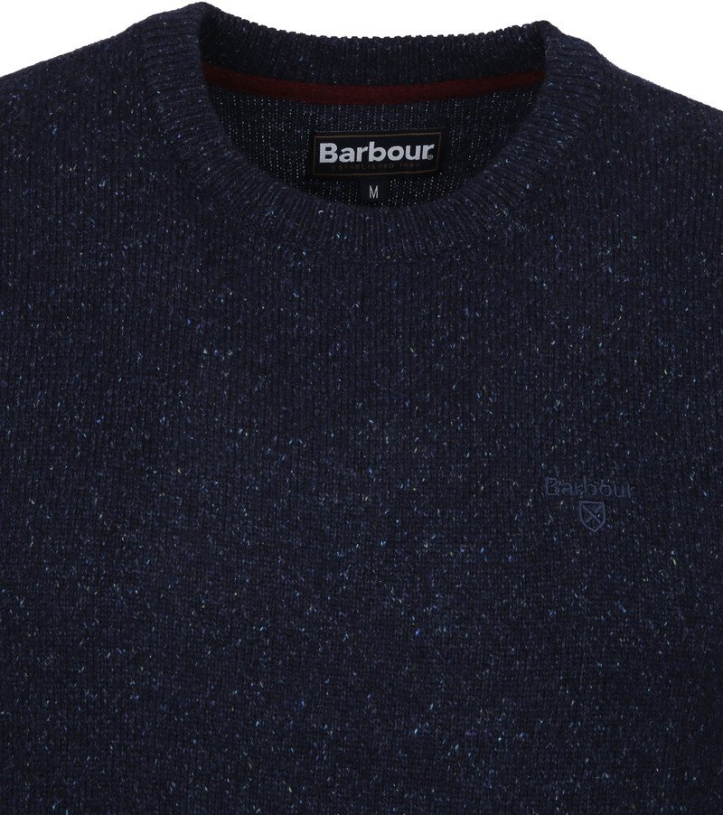 Barbour Tisbury Pullover Dunkelblau Foto 1