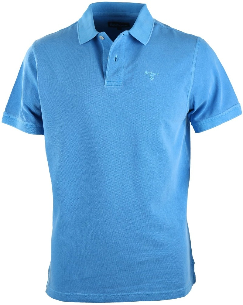 Barbour Washed Polo French Blue  online bestellen | Suitable