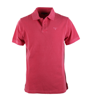 Barbour Washed Polo Fuchsia  online bestellen | Suitable