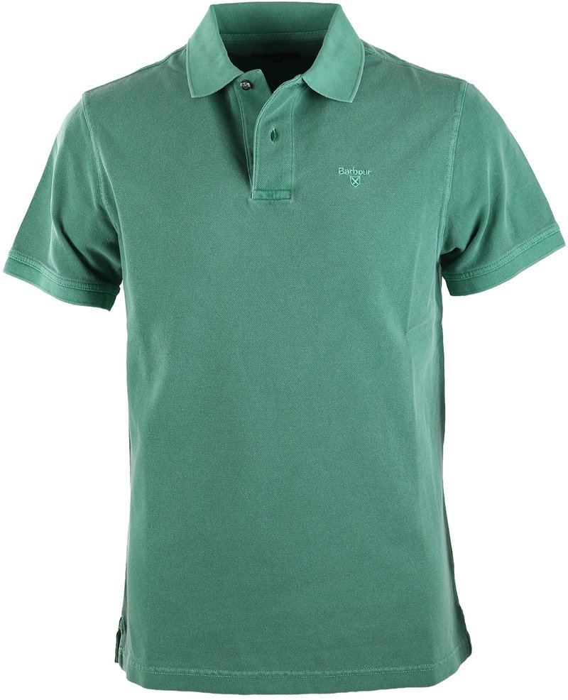 Barbour Washed Polo Groen  online bestellen | Suitable