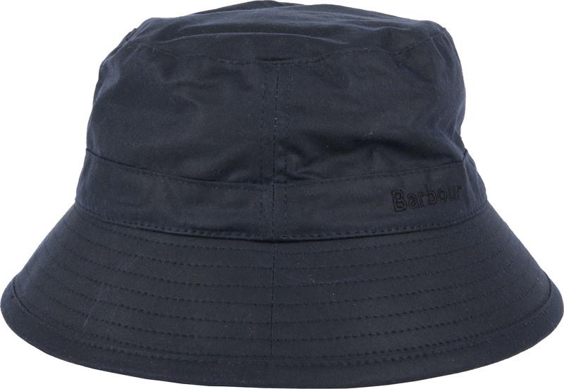 Barbour Wax Hat Navy photo 0