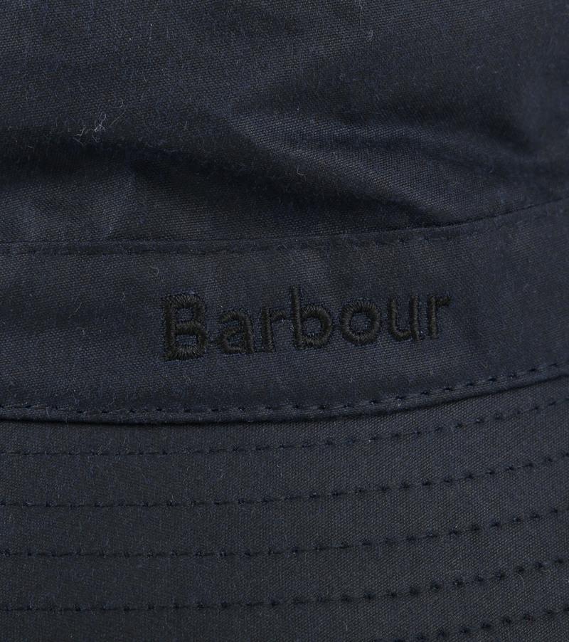 Barbour Wax Hat Navy photo 1