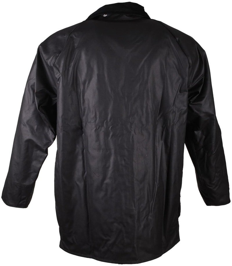 Barbour Waxjas Beaufort Black foto 2