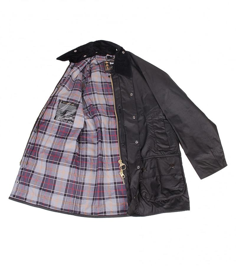 Barbour Waxjas Beaufort Black foto 3