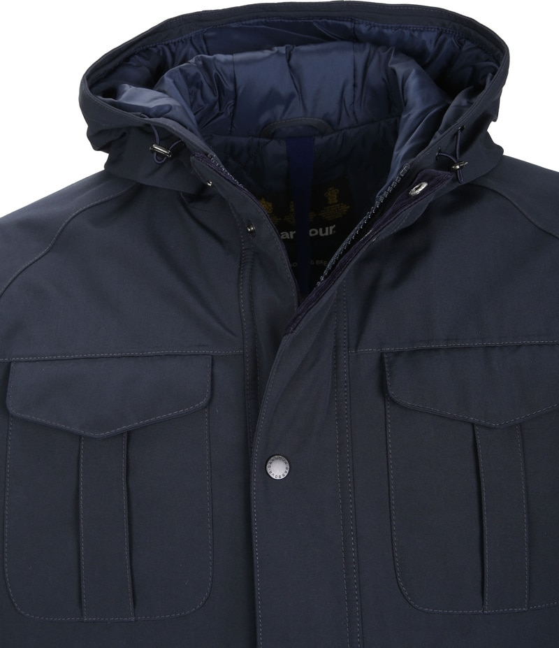 Barbour Whitstable Jack Navy foto 1