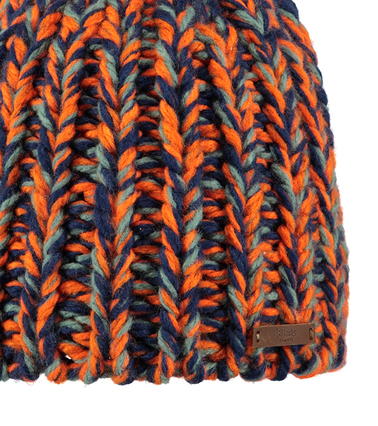 Detail Barts Muts Tunde Oranje Blauw