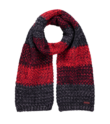 Barts Schal Lester Schwarz Rot  online kaufen | Suitable