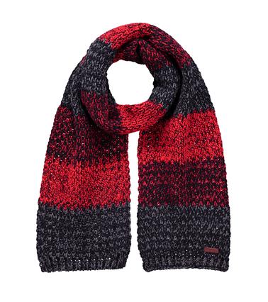 Barts Sjaal Lester Zwart Rood  online bestellen | Suitable