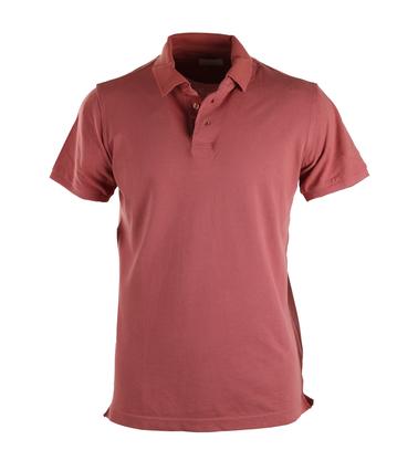 Basic Polo Oud Roze  online bestellen | Suitable