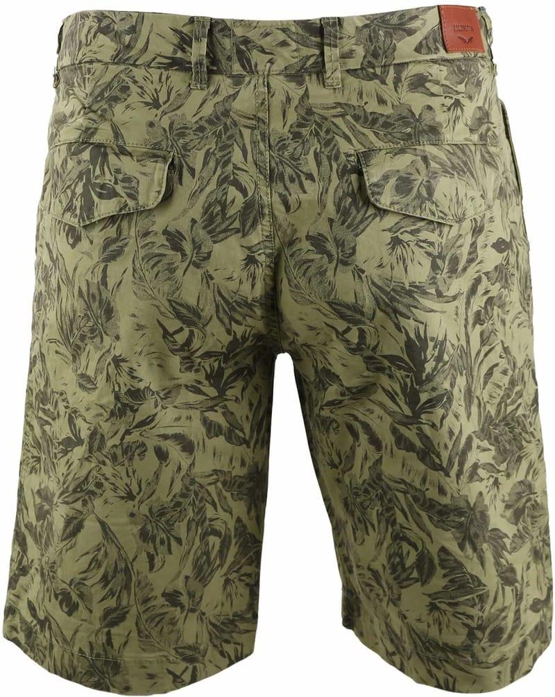 Basic Shorts Green Print photo 1