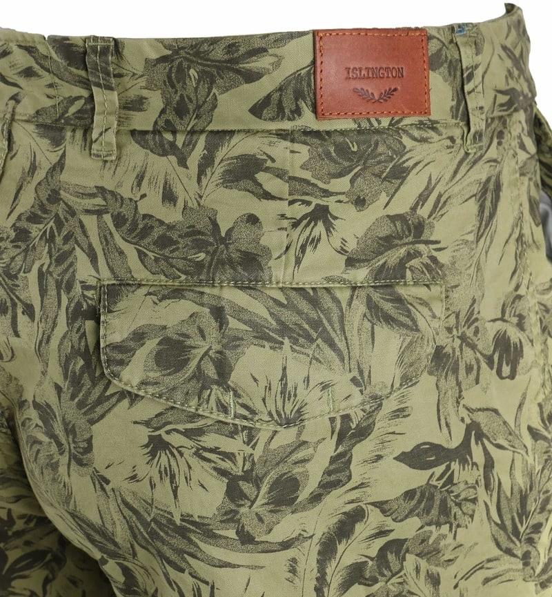 Basic Shorts Green Print photo 3