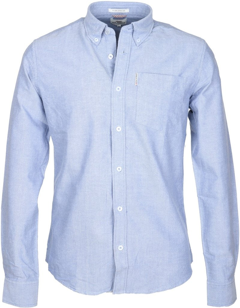 Ben Sherman Hemd Blau Oxford  online kaufen | Suitable