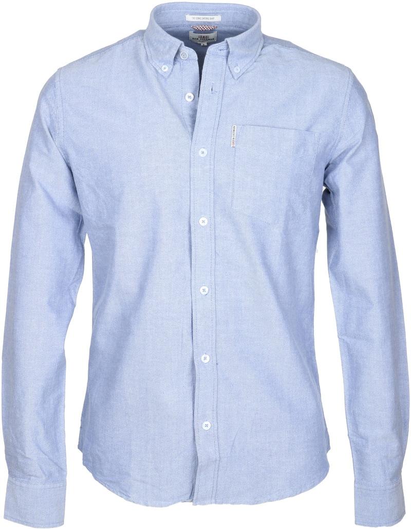 Ben Sherman Overhemd Blauw Oxford  online bestellen   Suitable