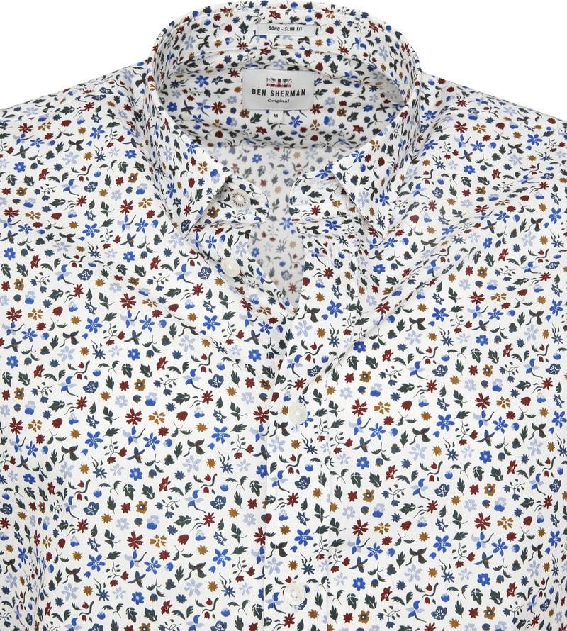 Ben Sherman Overhemd Bloem foto 1