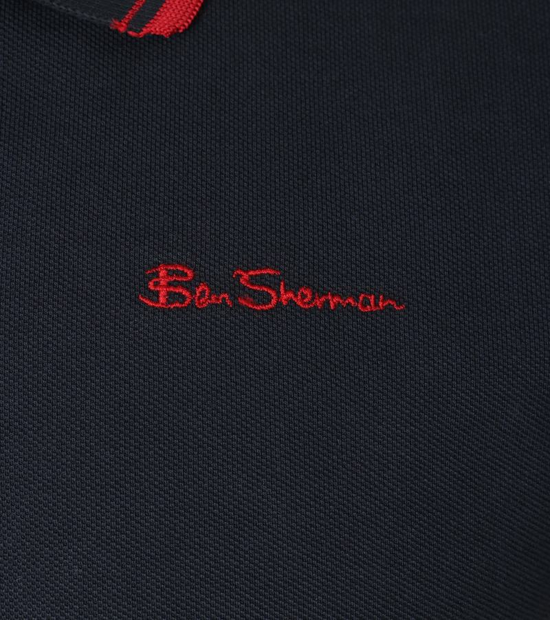 Detail Ben Sherman Polo Romford Navy