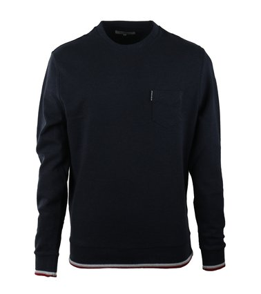 Ben Sherman Pullover Donkerblauw Pique  online bestellen | Suitable