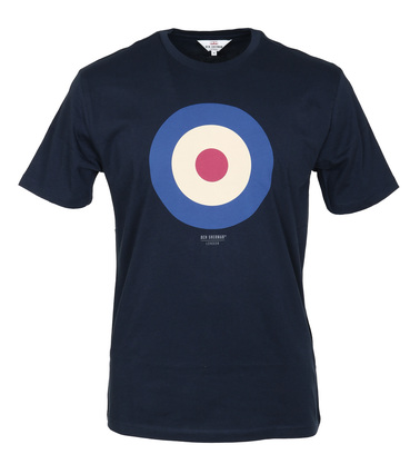 Ben Sherman T-Shirt Print Dunkelblau  online kaufen | Suitable