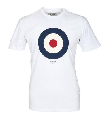Ben Sherman T-Shirt Print Wit  online bestellen | Suitable