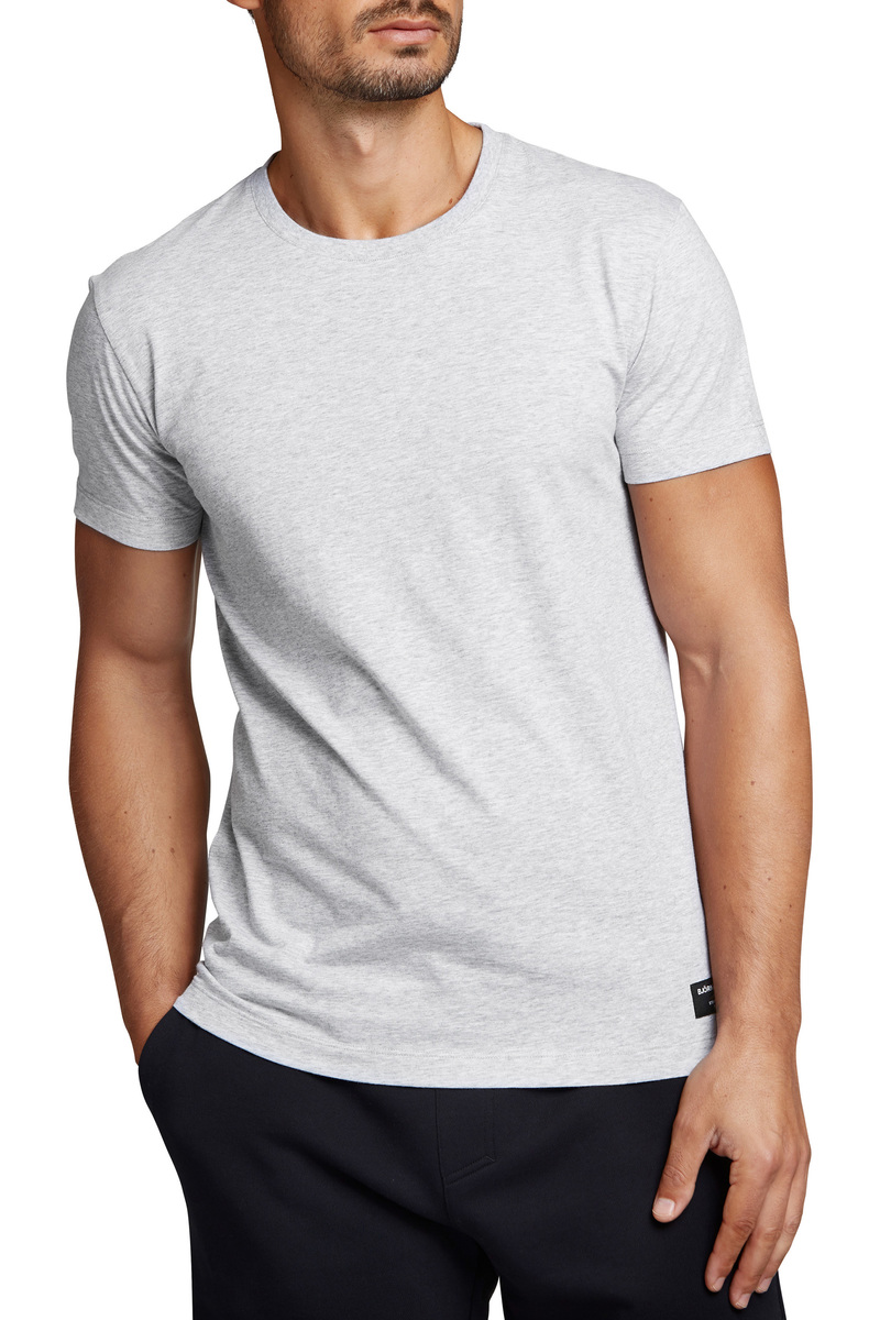 Bjorn Borg Basic T-Shirt Grijs - Grijs maat XXL