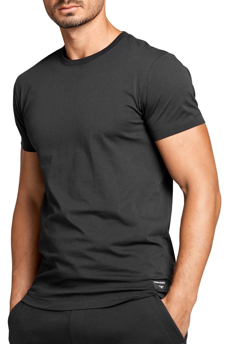 Bjorn Borg Basic T-Shirt Zwart - Zwart maat S