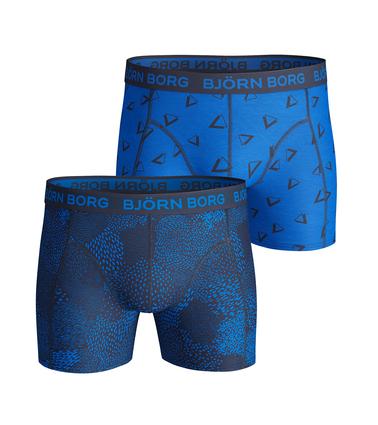 Bjorn Borg Boxers 2Pack Blauw Print  online bestellen | Suitable