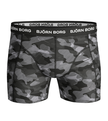 Detail Bjorn Borg Boxers 3Pack Grijs Zwart