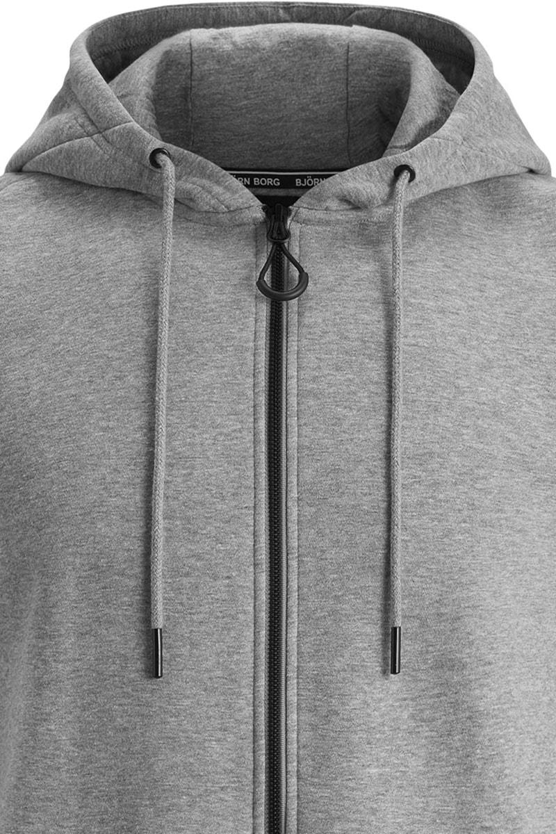 Bjorn Borg Hooded Vest Melange Grey photo 1